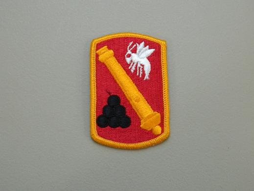 113th Artillery Bde. Color Patch