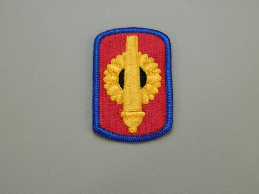 130th Field Artillery Bde. Color Patch