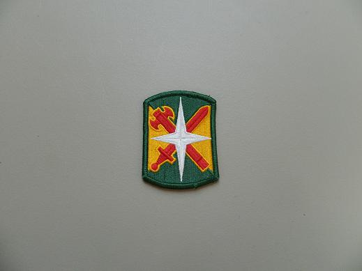 14th Military Police Bde. Color Patch