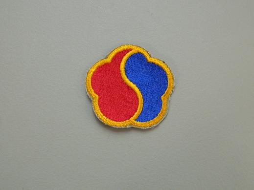 19th Support Brigade Color Patch- No Pigtail