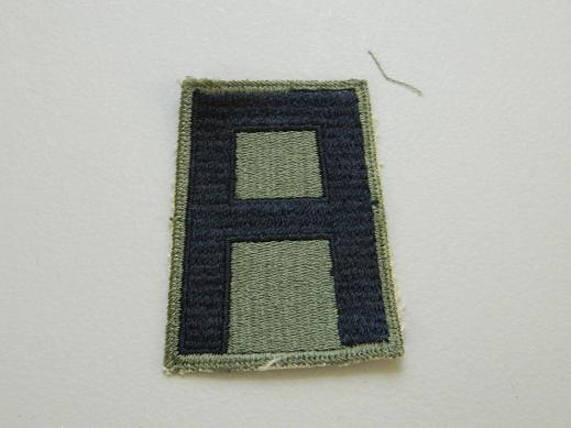 1st Army Subdued WW2 Patch