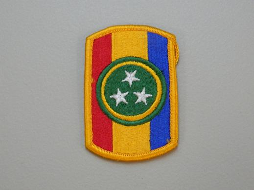 30th Armored Bde. Color Patch