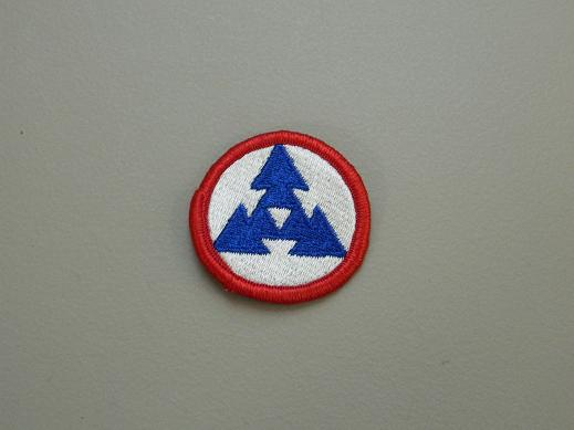 3rd Logistical Command Color Patch