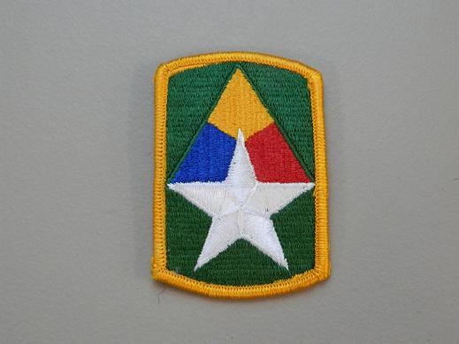 49th Armored Bde. Color Patch