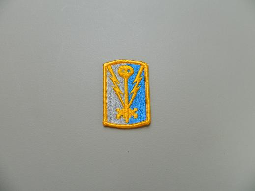 501st Military Intelligence Bde. Color Patch