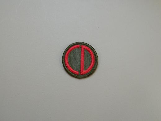 85th Inf. div. Color Patch- Old Pattern