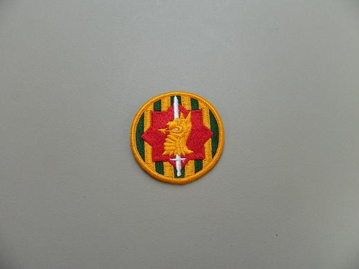 89th Military Police Color Patch