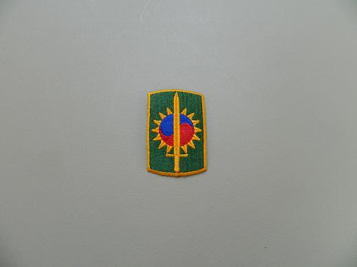 8th Military Police Bde. Color Patch - No Pigtail