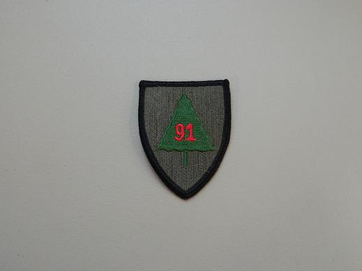 91st Inf. Div. Color Patch