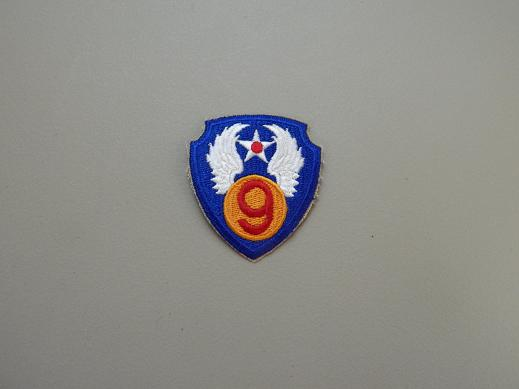 9th Army Air Force Color Patch- WW2
