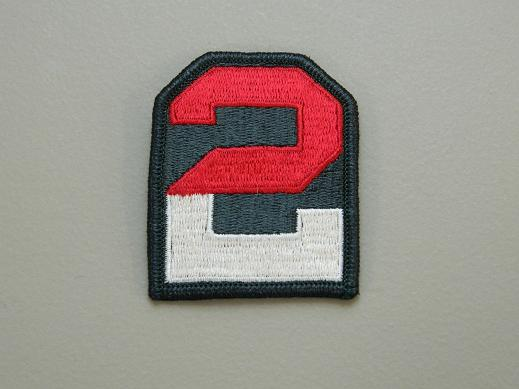 2nd Army Color Patch
