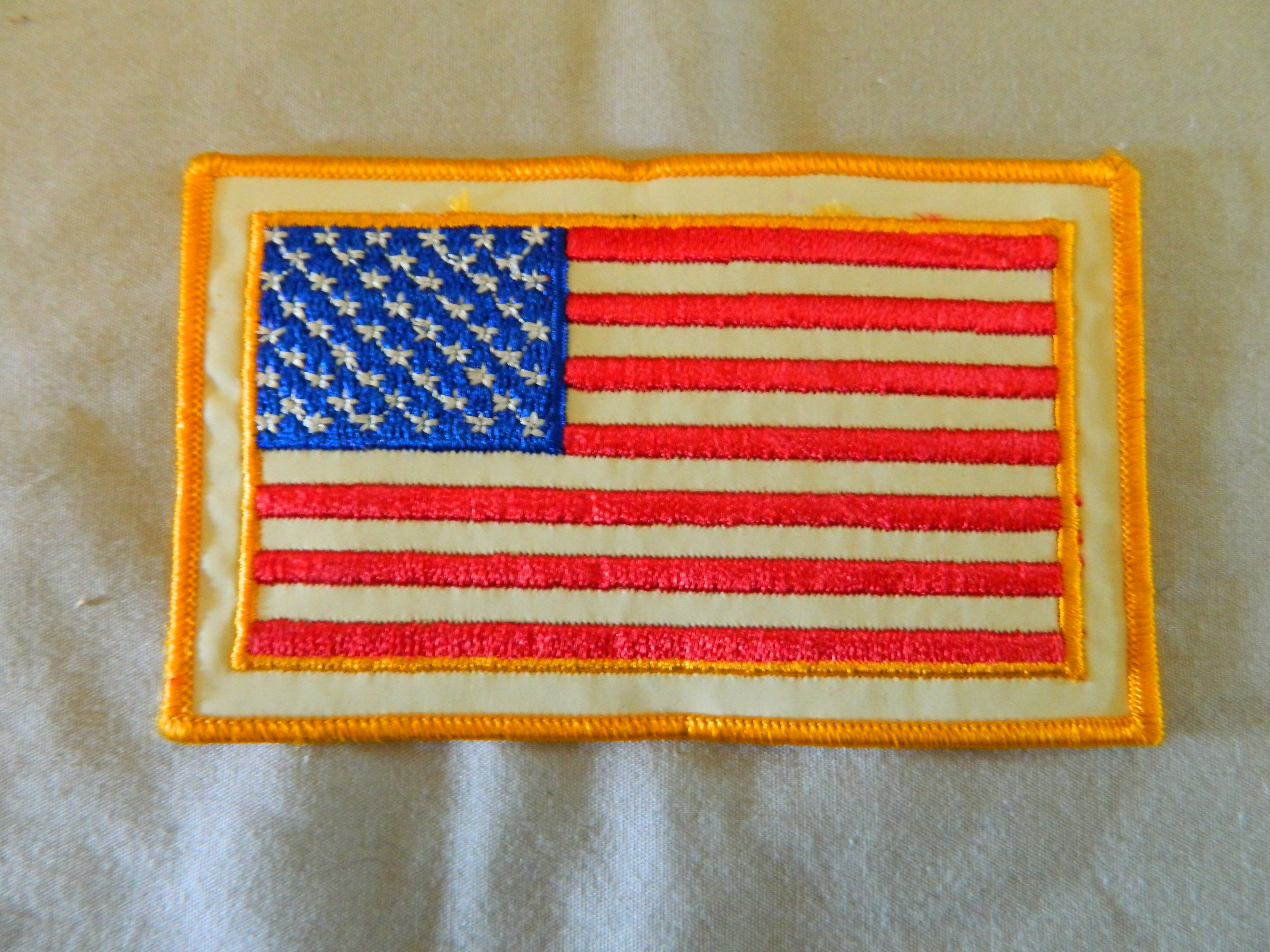 US Flag Patch- approx 3 in x 5 in.