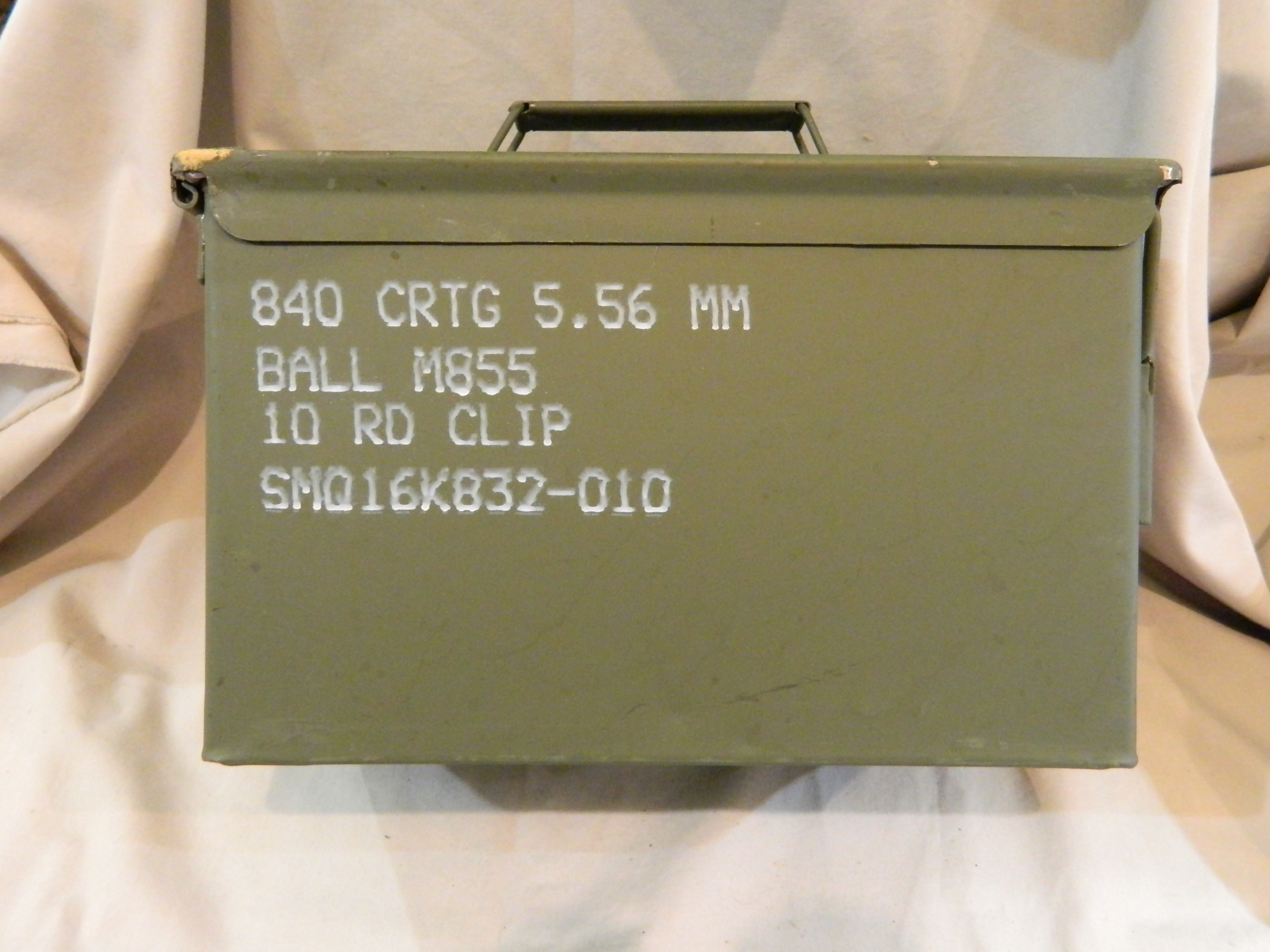 USGI 50 Cal. Ammo Can- 1 Ct. Like New