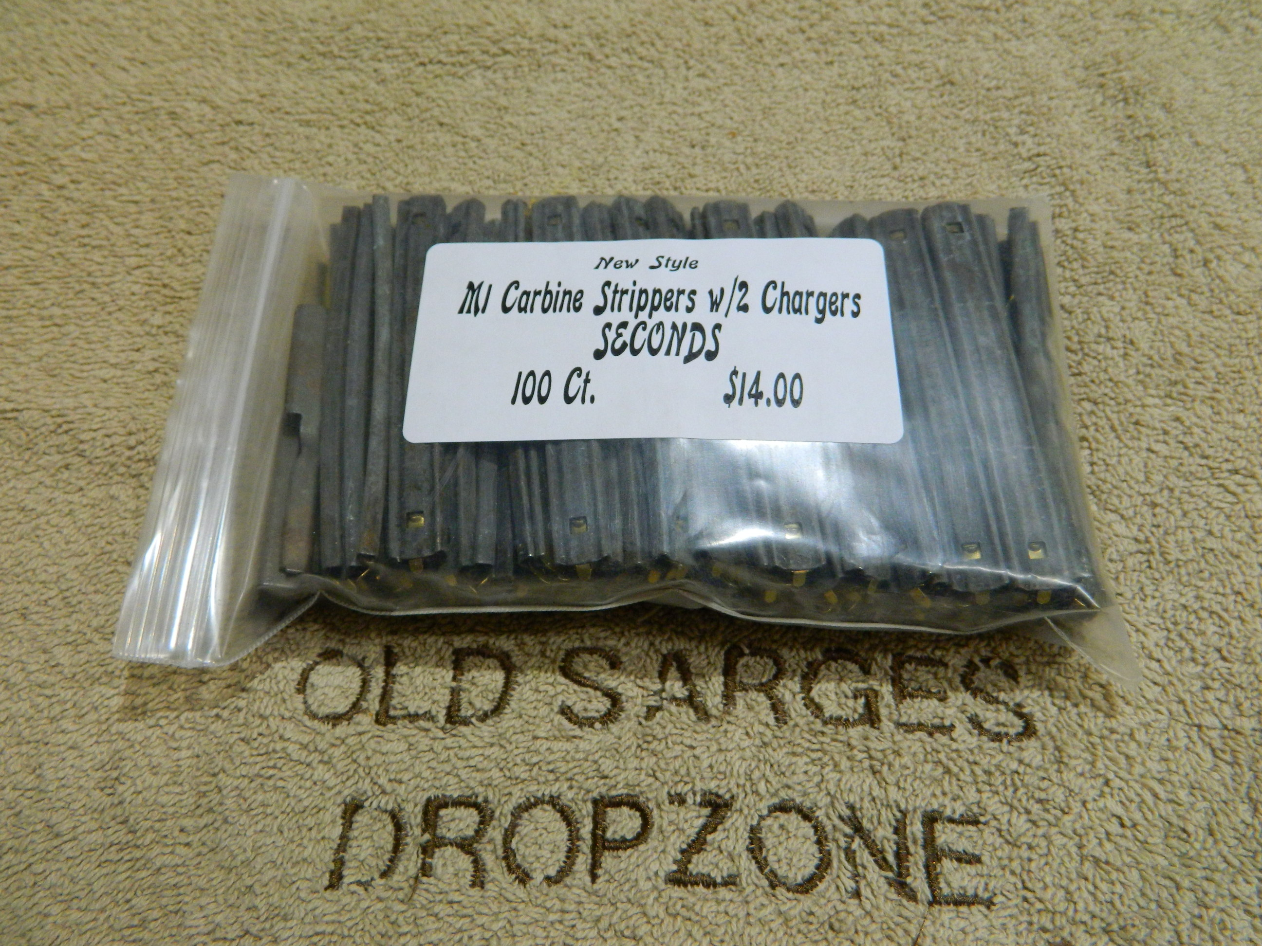 M1 Carbine Strippers- New Style- SECONDS- 100ct.