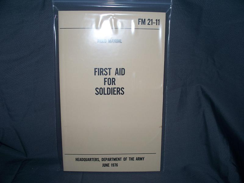FM 21-11 First Aid For Soldiers