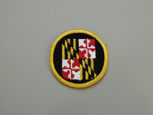 Maryland Nat. Guard State HQ Color Patch