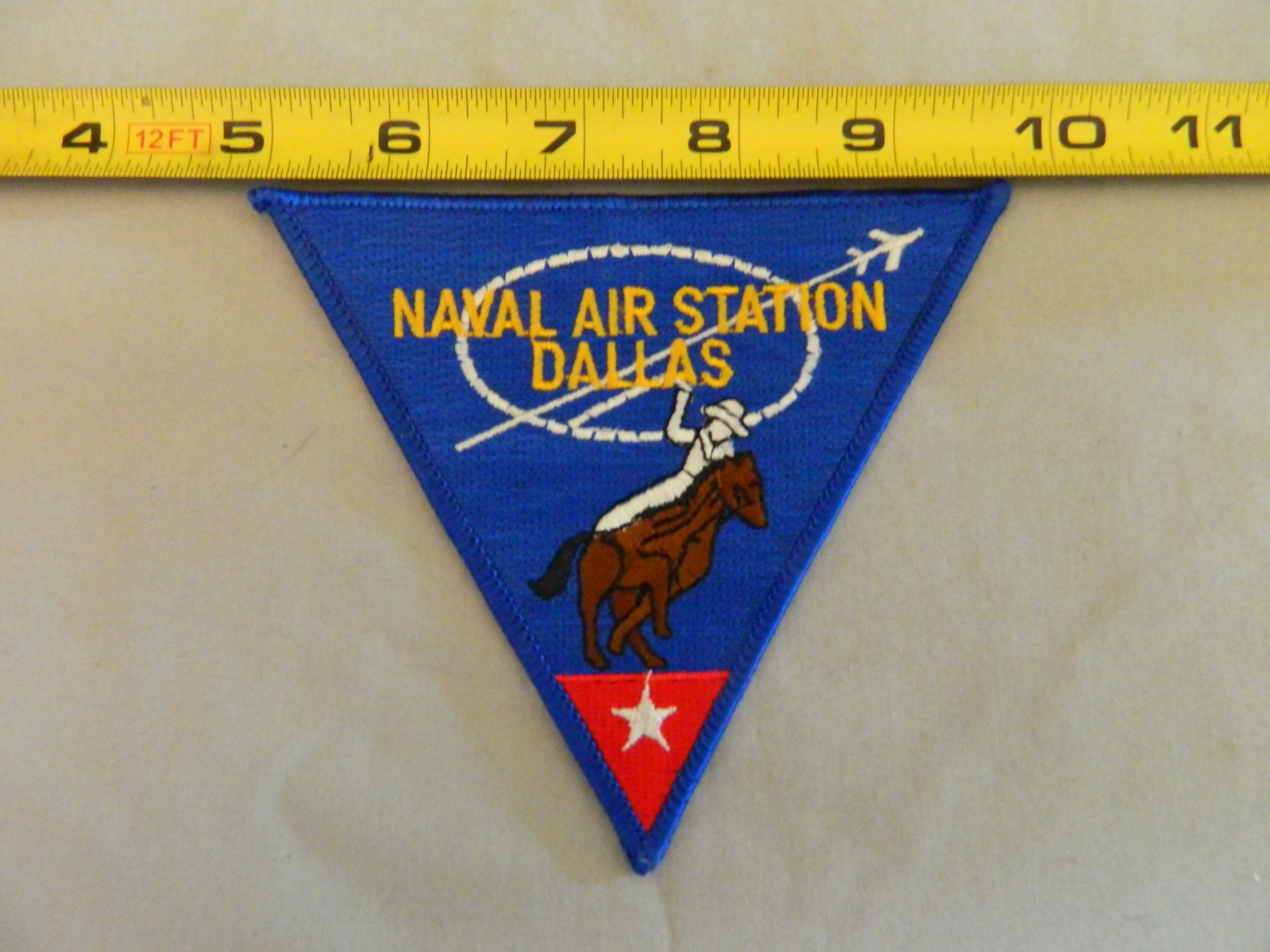 USN: NAVAL AIR STATION DALLAS- Color Patch