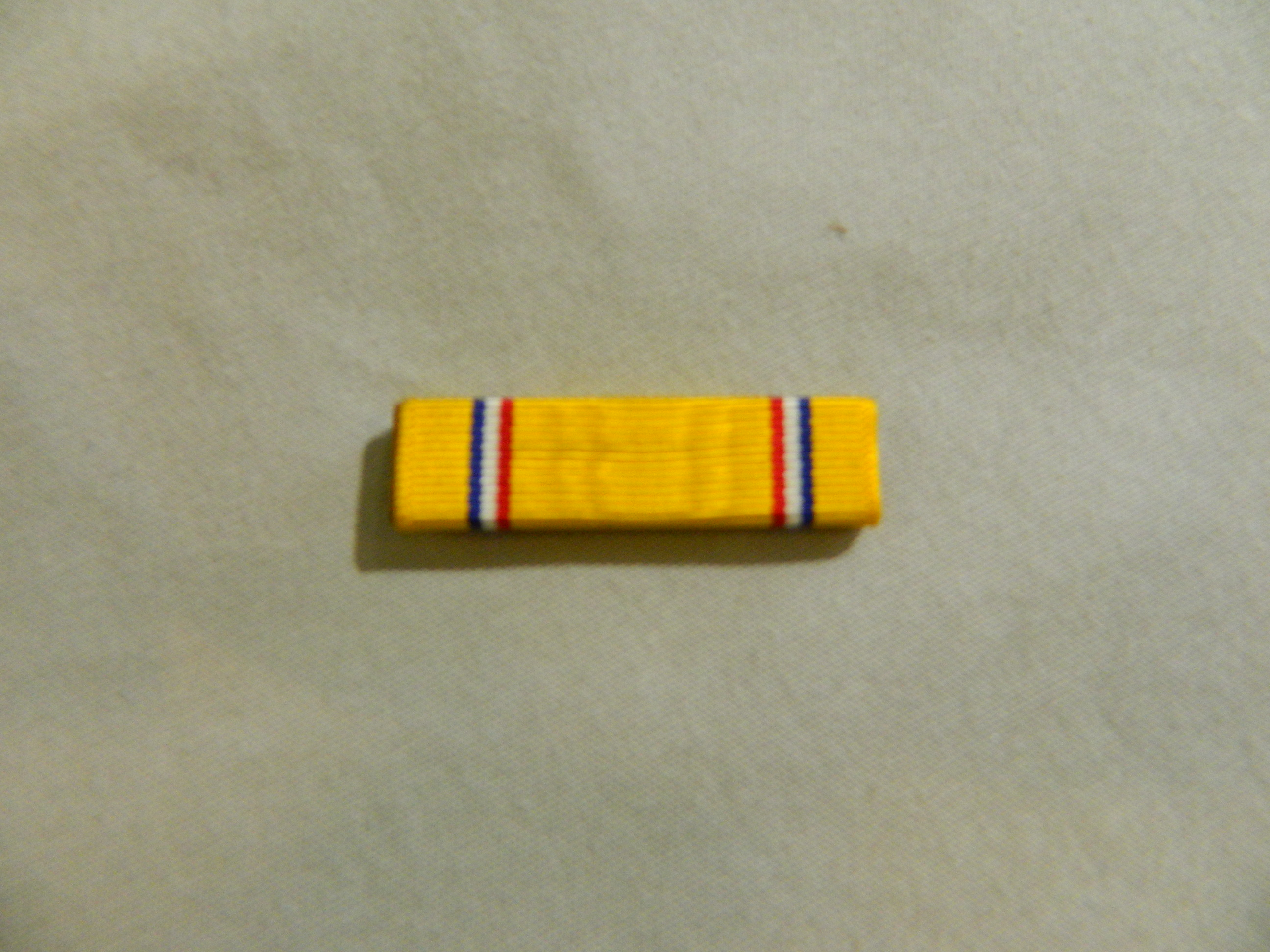 Ribbon: American Defense Svc. Medal