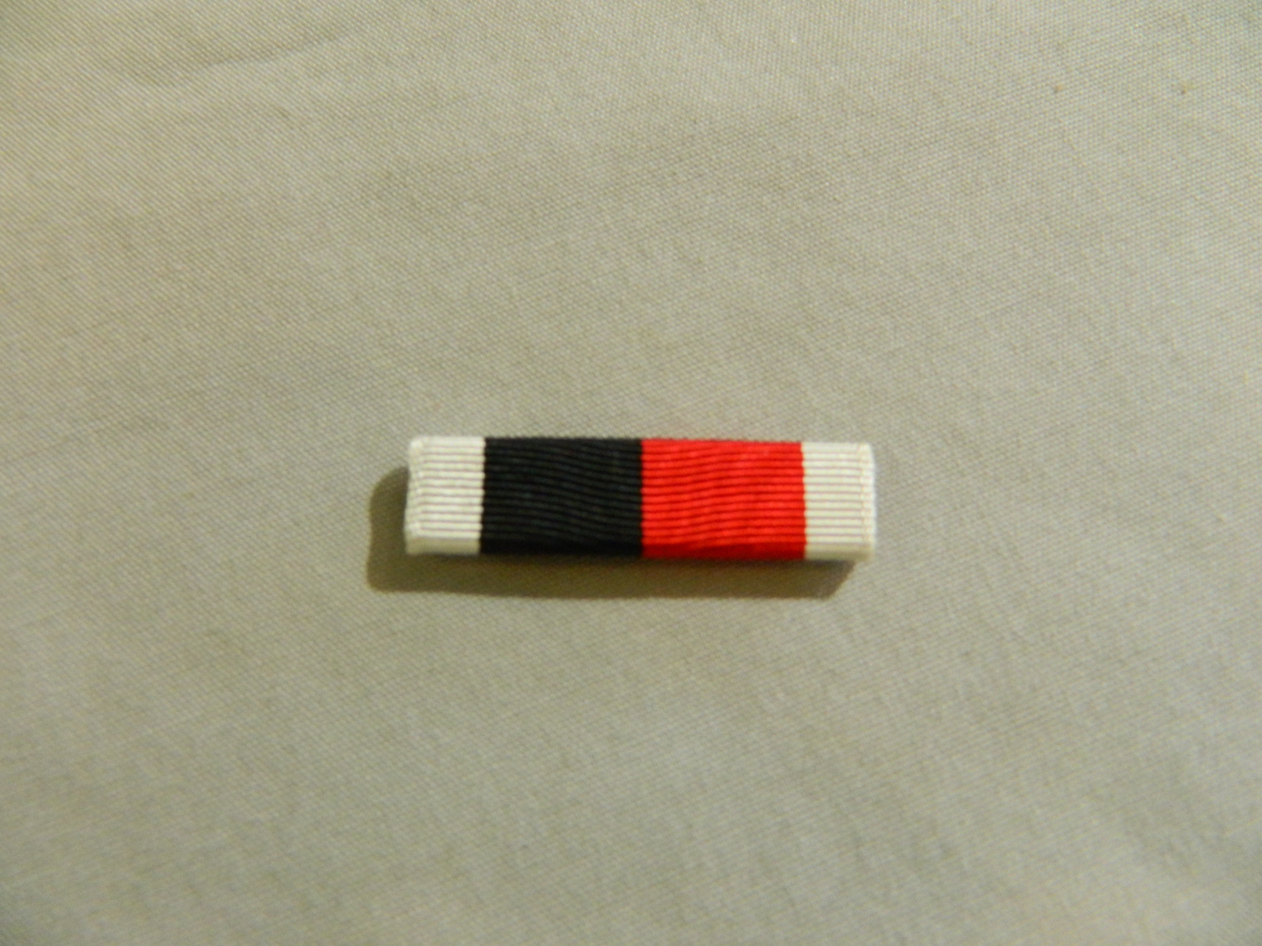 Ribbon: Army/Navy Occupation Medal