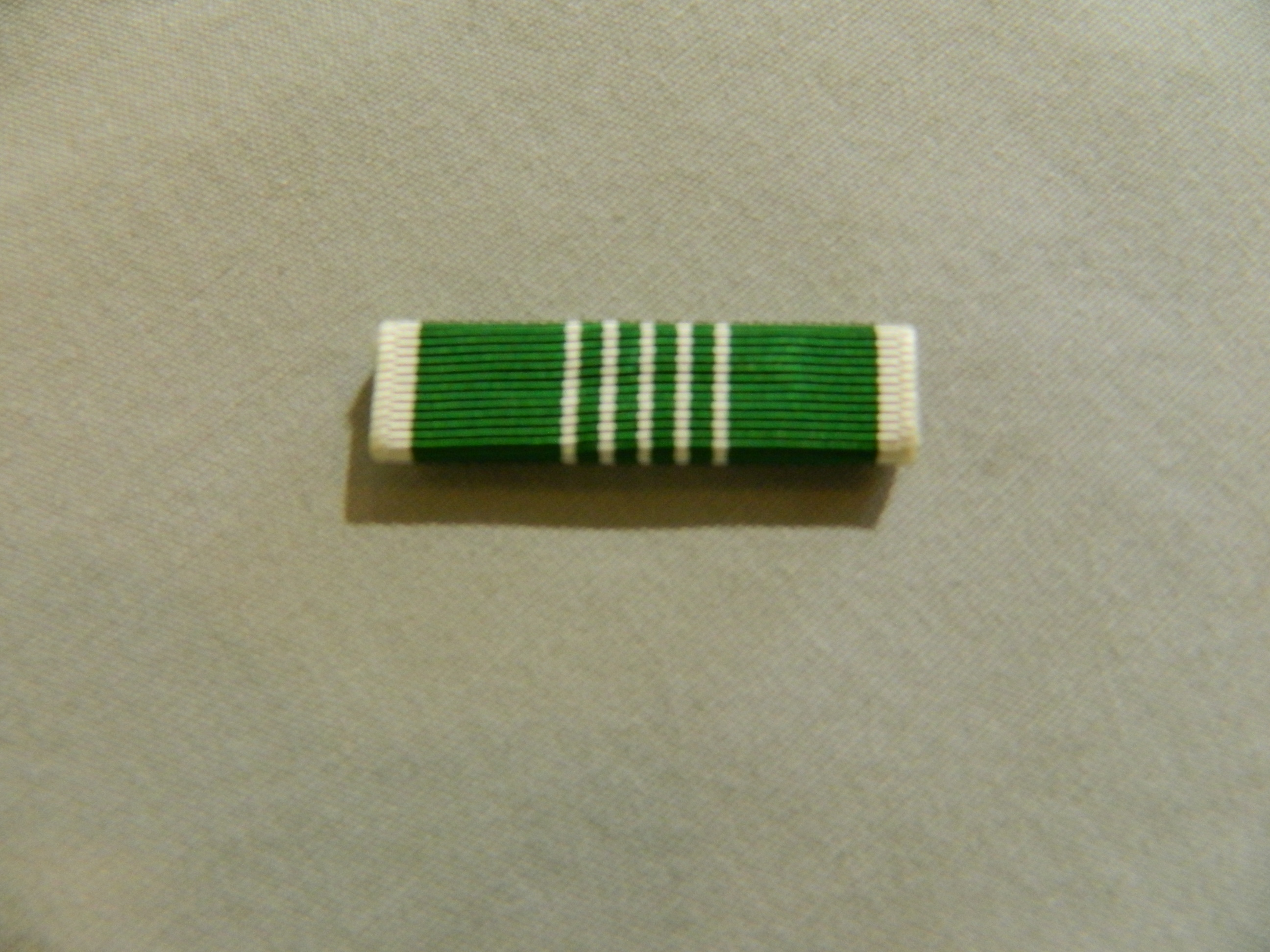 Ribbon: Army Commendation Medal