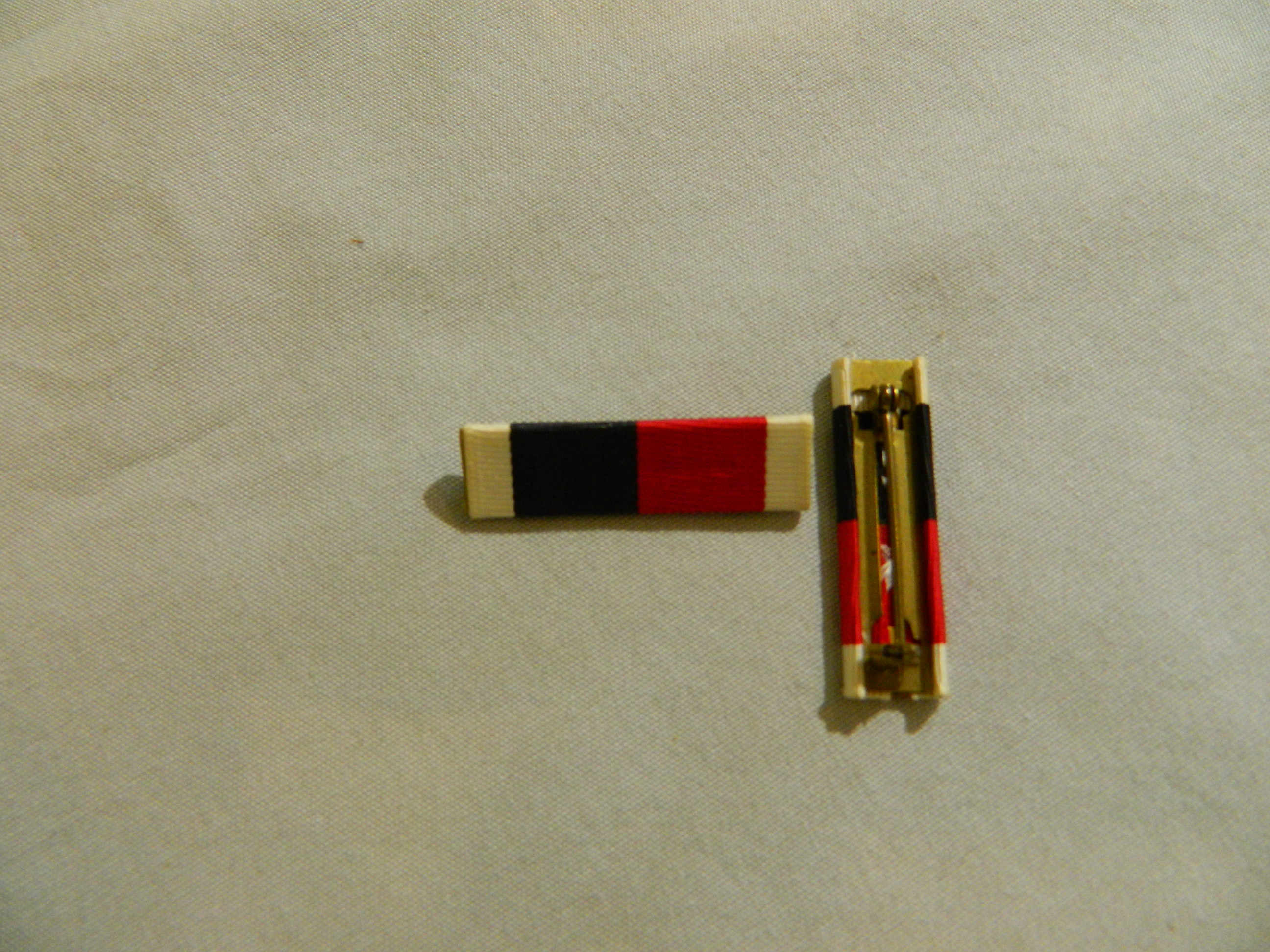 Ribbon: Army/Navy Occupation Medal w/Pinback