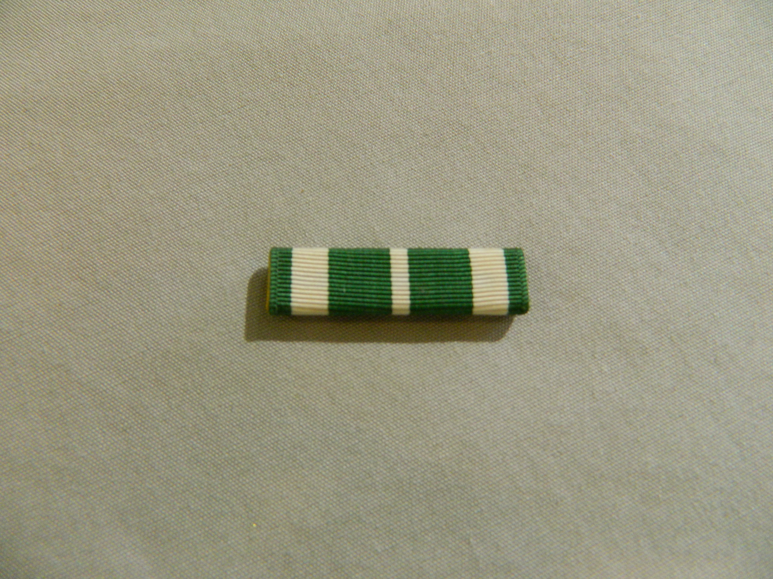 Ribbon: Coast Guard Commendation Medal