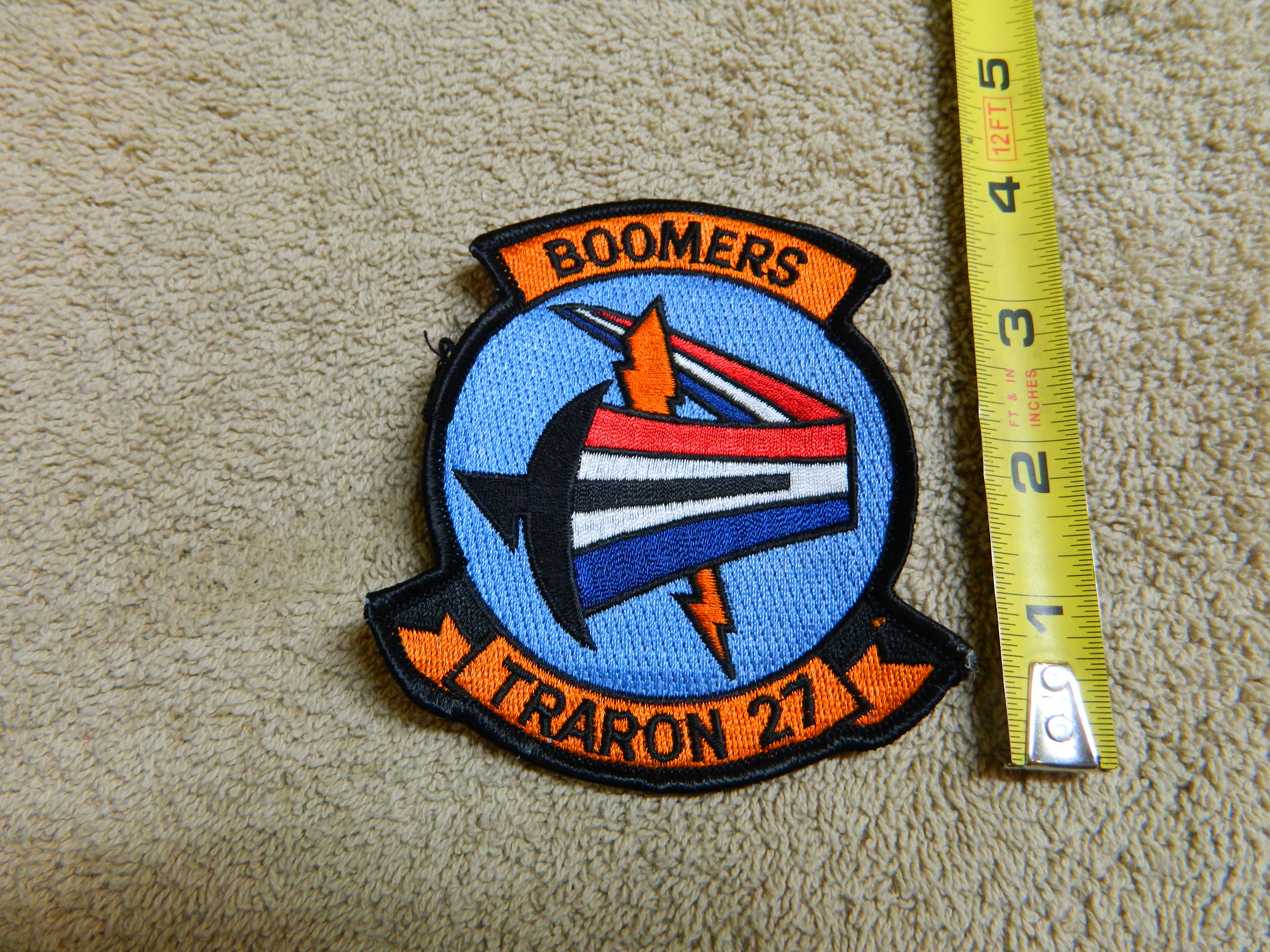 TRARON 27- BOOMERS- Color Patch