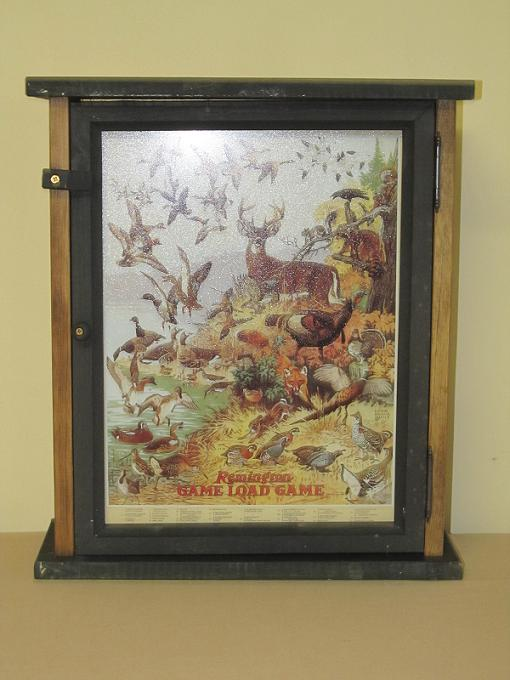 Remington Game Loads w/ Deer Pine Cabinet