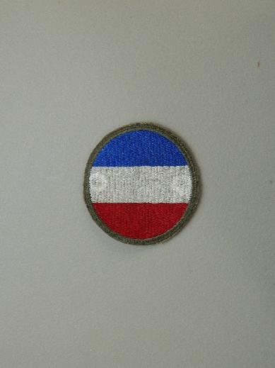 Army Ground Forces WW2 Color Patch