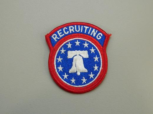 Army Recruiting Color Patch