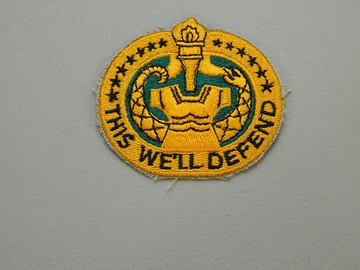 Drill Instructor School Color Patch