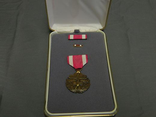 Meritorious Service Medal- Full Size- Lrg. Case