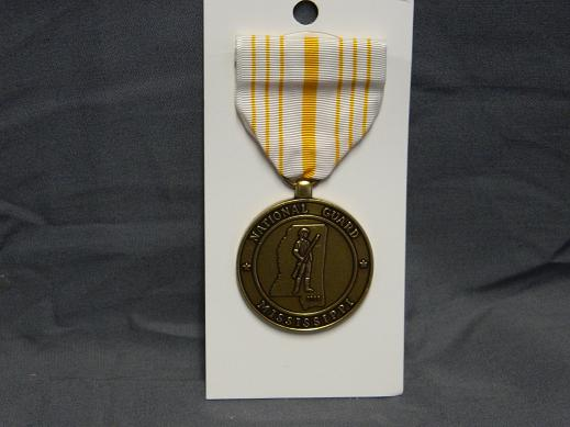 Mississippi National Guard Recruiting Medal- Full Size