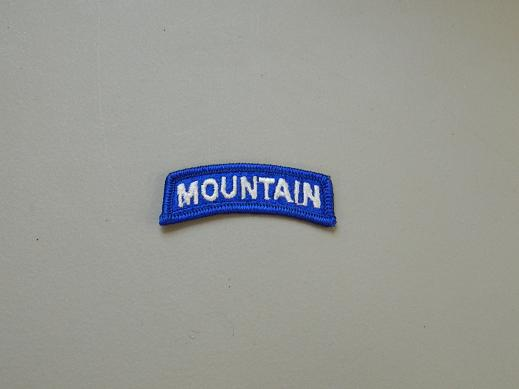 Mountain Tab Color- Blue/White