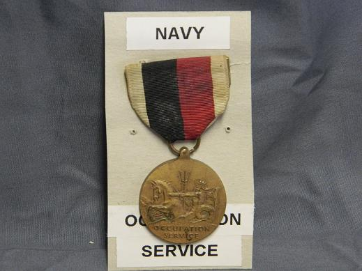 Navy WWII Occupation Medal- Full Size