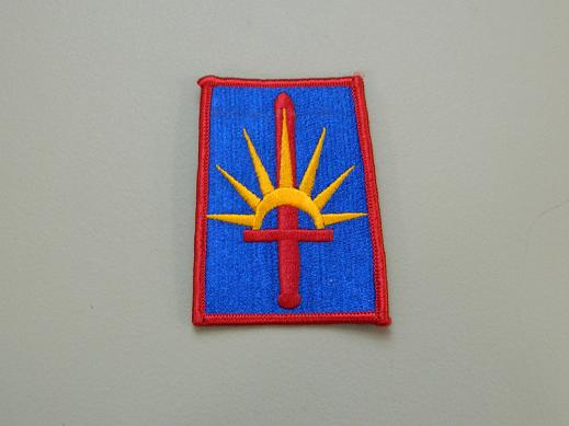 New York Nat. Guard State HQ Color Patch