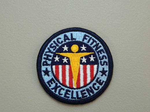Physical Fitness Color Patch