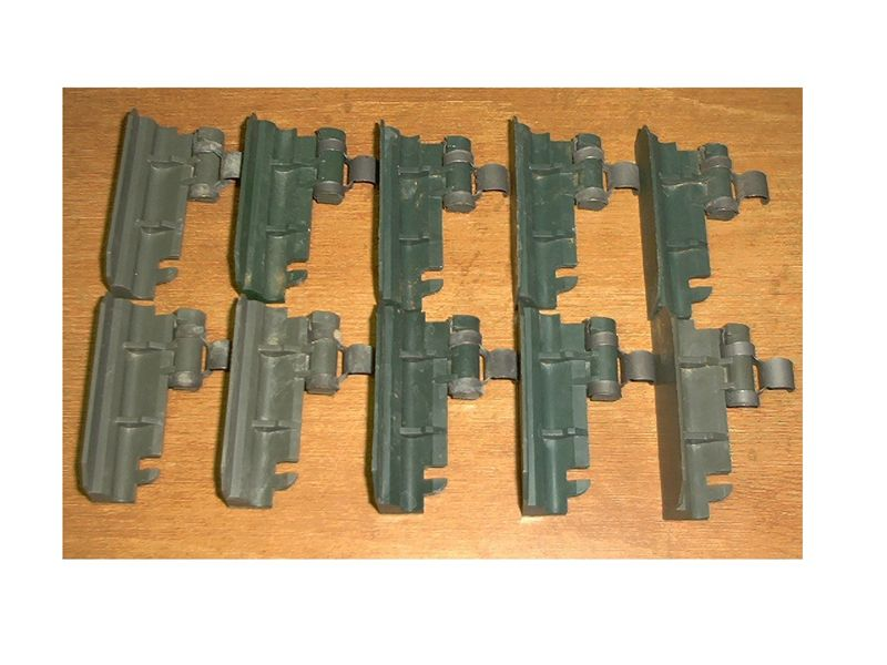 M249 S.A.W. Tabs- 10 Ct. Green