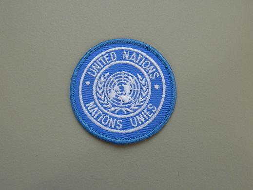 United Nations Color Patch
