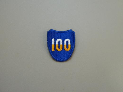 100th Inf.Div. Color Patch- No Pigtail