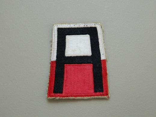 1st Army Color Patch- WW2