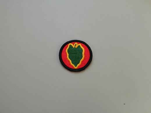 24th Inf. Div. Color Patch