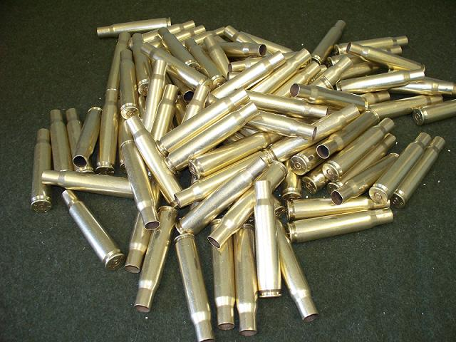 USGI 50 Cal. BMG Brass- WCC-1 x Fired- 100 Ct.