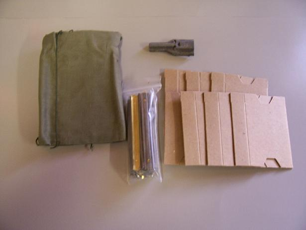 M16/AR15 .223 7 Pocket Repack Kit- 1 Ct.- Green Rag