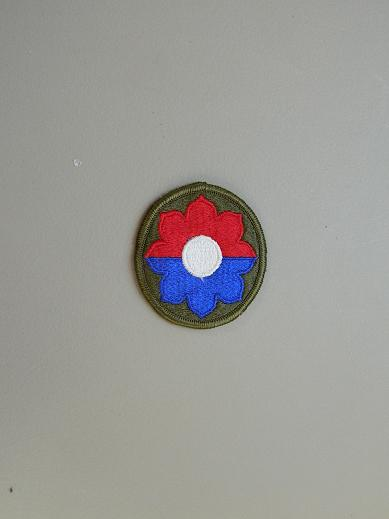 9th Inf. Div. Color Patch