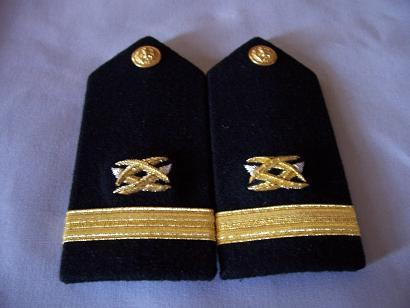 USN Ensign Civil Engineering FEMALE Shoulder Boards