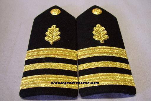 USN LCDR Supply Corps MALE Shoulder Boardfs