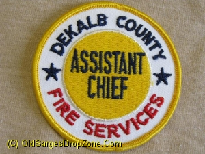 Dekalb County Fire Services Asst. Chief