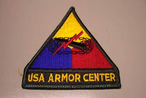 USA Armor Center - Dark Green Tab