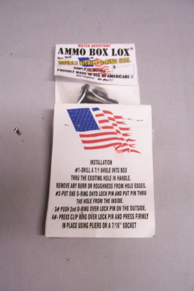 Ammo Box Lox - Fits 50 cal./S.A.W. Cans